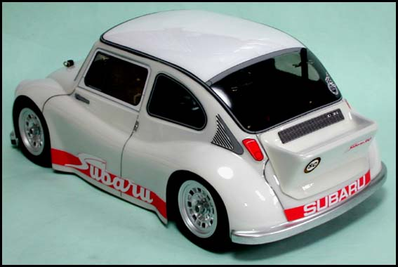 Chevron Msl023 Subaru 360 Body Wheelbase 210mm Jethobby